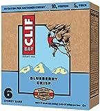 CLIF BAR - Blueberry Crisp - (2.4 Ounce Bar, 6 Count)