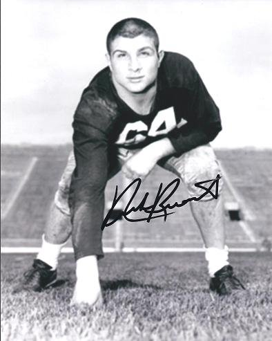 Nick Buoniconti Autographed / Hand Signed 8x10 Photo - Hall of Famer