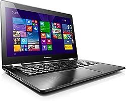 Lenovo Yoga 500 35,6 cm (14 Pulgadas) portátil (Intel Pentium 3805u, 1,9 GHz, 4 GB RAM, 500 GB HDD, Intel HD, Windows 8.1, Pantalla táctil) Negro ...