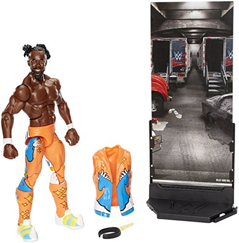 WWE Elite Collection Raw Series #52 Kofi Kingston Action Figure