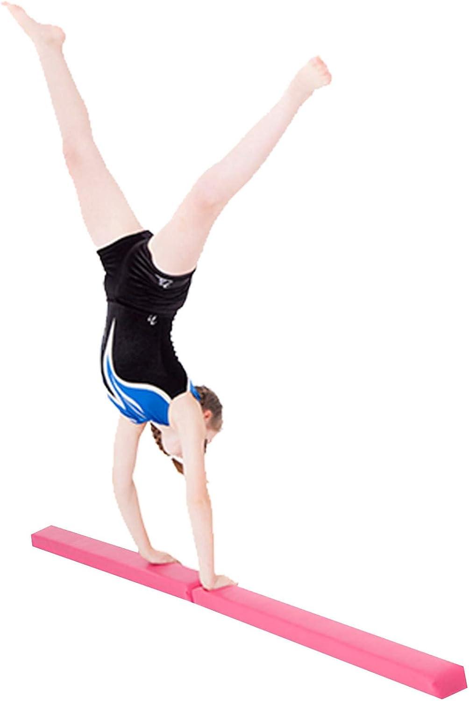 Kabalo Gymnastics Folding Balance Beam 2.1M Indoor Beginner Home Gym Training Equipment