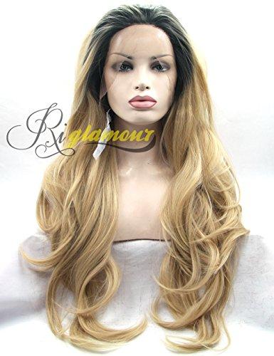 Golden Blonde Hair Wig - 9