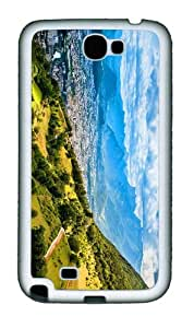 customize cover lyon france TPU White case/cover for samsung galaxy N7100/2