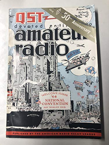 QST Magazine - August 1964 - Amateur Ham Radio - Volume, used for sale  Delivered anywhere in USA