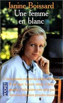Une femme en blanc par Boissard