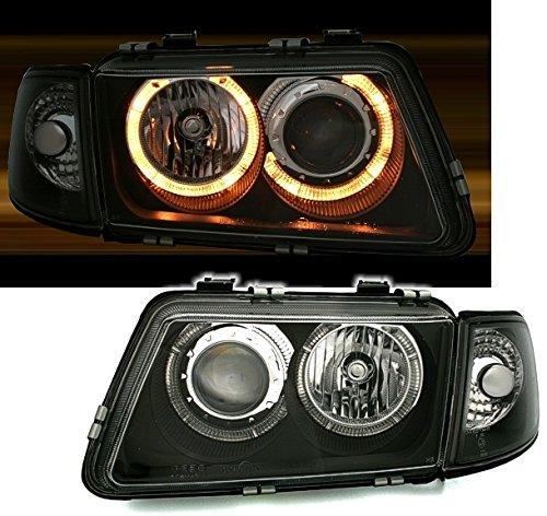 AD Tuning GmbH & Co. KG 960350 Jeu de phares Angel Eyes, Verre Transparent / Noir Verre Transparent/ Noir
