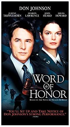 Amazoncom Word Of Honor Vhs Sharon Lawrence Jeanne Tripplehorn