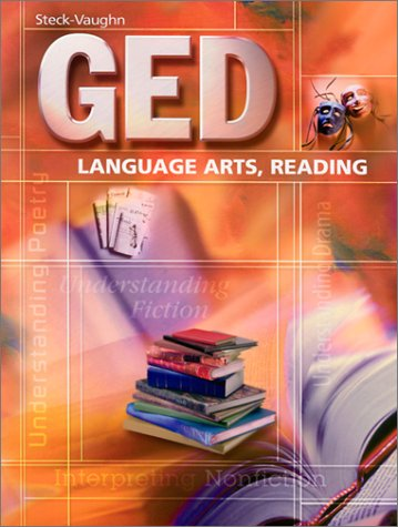 GED: Language Arts, Reading (Steck-Vaughn GED) by HARCOURT SCHOOL SUPPLY