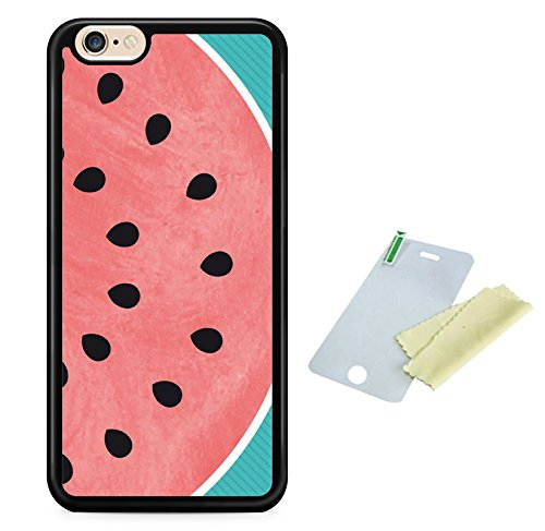 Coque silicone BUMPER souple IPHONE 5c - Pasteque watermelon fruit SWAG mignon motif 4 DESIGN case+ Film de protection OFFERT