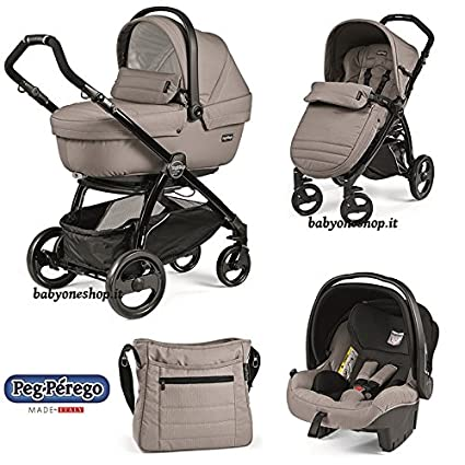 Cochecito Combi [babyschale + cochecito + Sportwagen] portatil Plus Pop Up Peg Perego Mod