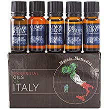 Gift Starter Pack of 5x10ml Essential Oils Of Italy