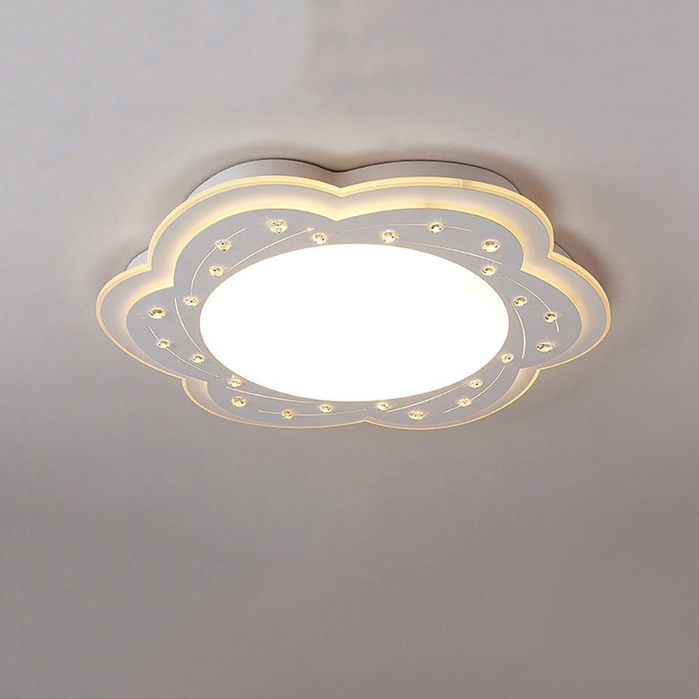 HOMEE Ceiling Chandelier-Chandelier Bedroom Lights Flower Shape Led Ceiling Lamp Simple Decorative Lights Creative Child Room Lights Warm White Cool White Lighting,Warm White-627Cm