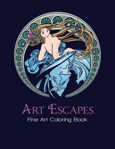 Art Escapes Fine Art Coloring PDF