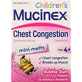 Amazon Com Chest Congestion Mucinex Children S Mini