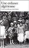 Une enfance algérienne par Sebbar