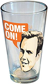 ICUP Arrested Development Gob Come on Pint Glass, Clear