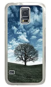 Raven Tree Clear Hard Case Cover Skin For Samsung Galaxy S5 I9600