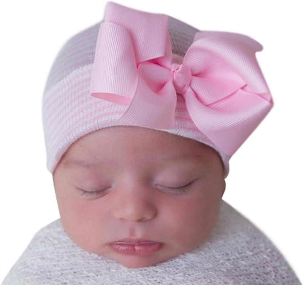 pink newborn hospital hat baby INFANTEENIE BEENIE newborn BABY GIRL HAT