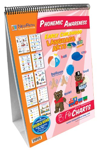 NewPath Learning Phonemic Awareness Curriculum Mastery Flip Chart Set, Early Childhood by New Path Learning