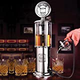Bar Butler Visible Gas Pump Liquor Dispenser ,Mini Beer Pourer Water Liquid Drink Dispenser Wine Pump Dispenser Machine- Single Gun