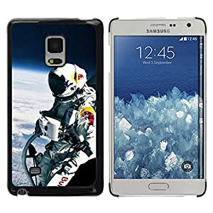 // PHONE CASE GIFT // Duro Estuche protector PC Cáscara Plástico Carcasa Funda Hard Protective Case for Samsung Galaxy Mega 5.8 / Red Bll Espacio Jump /