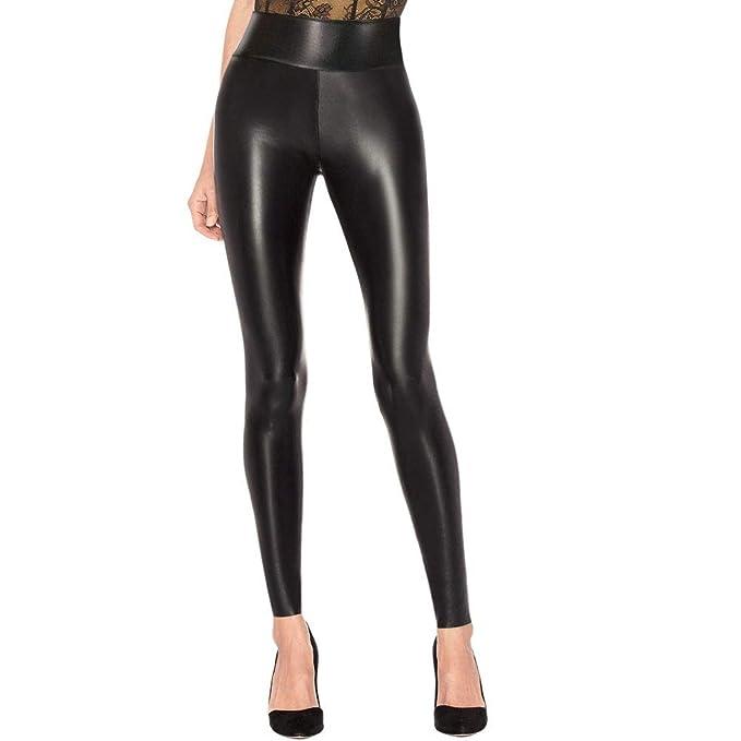 Black Leatherette Leggings Sizes XS Through XXL Free Shipping