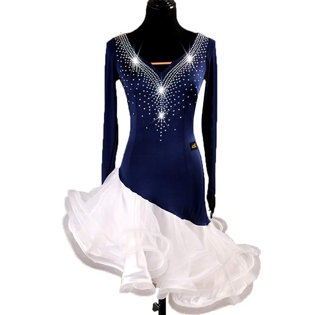 YuLin DRESS レディース B07HHYJCW9  ブルー Small