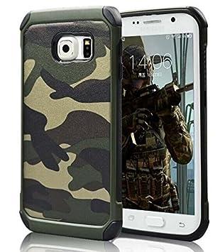 brand new 85f79 28f79 FDTCYDS Galaxy S6 Edge Case,Samsung galaxy S6 Edge Camo Case Armor ...