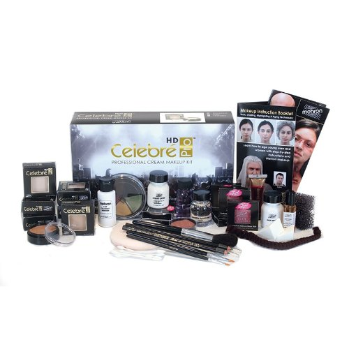 [Mehron Celebre Makeup Kit - Caucasian] (Special Effects Makeup Kit)