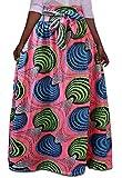 Yayu Women's Africa Print Bow Waist Swing Party Club Skirts 3 L