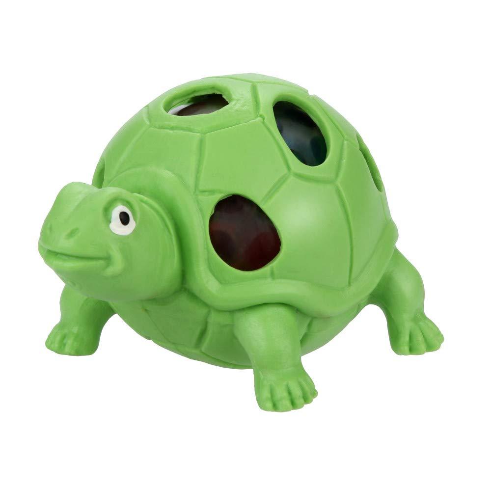 Bescita Stressabbau-Spielzeug, Spongy Bead Rainbow Ball Relief Schildkrö te Squishies Langsam Steigende Squeeze Toys Duft Stressabbau Spielzeug ( 9x5x5cm) (Grü n)