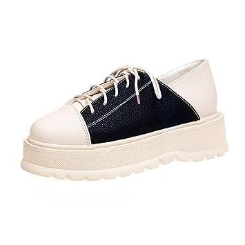 LuckyGirls Zapatillas para Mujer Casual Calzado de de de Planos 8aaefe