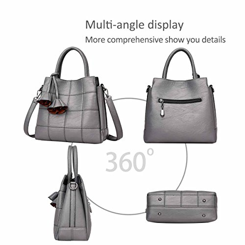 NICOLE for Bag Handbags Simple Leather Blue Pink Woman Female Atmosphere Handbags Trendy Handbag New Light a amp;DORIS Female Bag Fashion Shoulder rq4tr