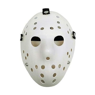 St.Mandyu Halloween Fun Diversity Masquerade Mask Halloween Mask for Festival Cosplay Halloween Costume Jason Cos Horror Mask(WT2): Clothing [5Bkhe1906639]