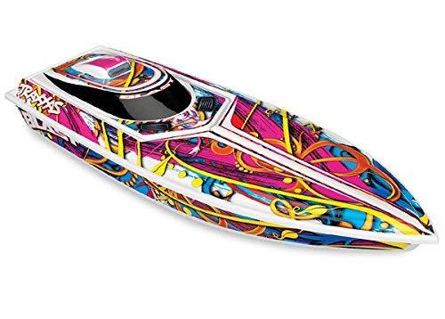 Traxxas 1/10 Scale Blast Boat Remote Control Boat, Multi-Color, 1/10