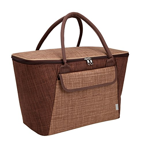 quilted cooler tote - 9