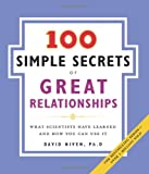 100 Simple Secrets of Great Relationships, David Niven, 0061157902