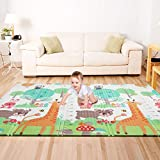 : Bammax Play Mat, Folding Mat Baby Crawling Mat Kids Playmat Waterproof Non Toxic for Babies, Infants, Toddlers