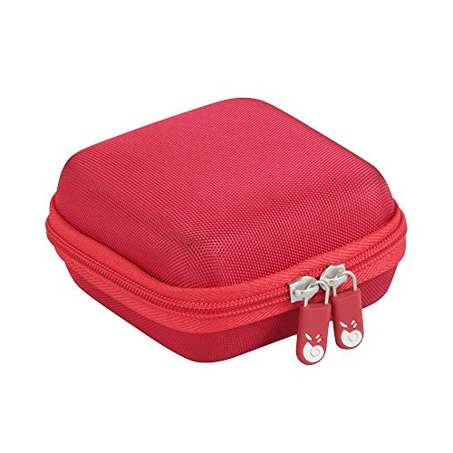 Hermitshell Hard EVA Travel Case Fits Anker PowerCore Fusion 5000 2-in-1 Portable Charger and Wall Charger (red)