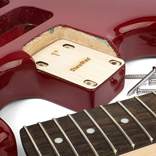 StewMac Neck Shims for Guitar, Blank - 6 Pack of 0.50 Degree Shims by StewMac (Image #2)