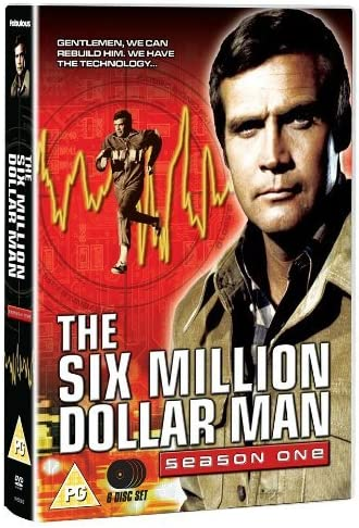 The Six Million Dollar Man Series 1 Dvd By Lee Majors Amazon Ca Dvd