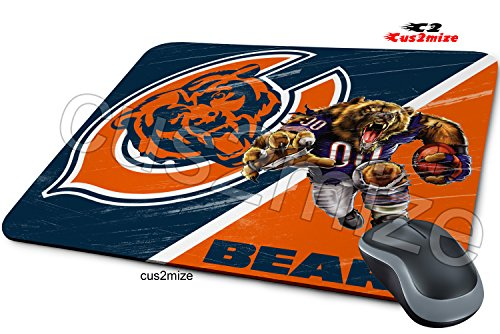 Chicago Bears Mouse Pad Chicago Bears Mousepad, Sold By Cus2mize 0723736676409