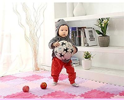 YRD TECH 6 Pc EVA Eco Puzzle Carpet Mosaic Tile Living Room Cushion Bedside Carpet