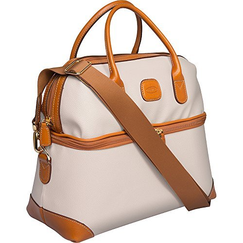 BRIC'S Firenze Tuscan Train Case (Cream)