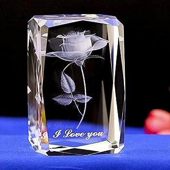 Amazon.com: Pesos de papel de cristal que te encantan en 3D ...