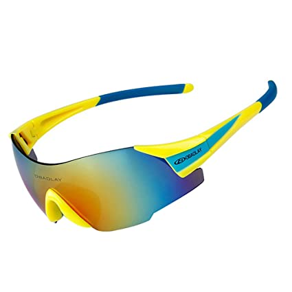 ae0294e5e8 Image Unavailable. Image not available for. Color  OBAOLAY Sports Sunglasses  Cycling Glasses