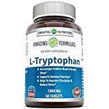 Amazing Formulas L-Tryptophan Dietary Supplement - 1000 mg 60 Tablets