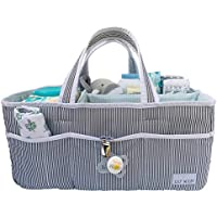 Lily Miles Baby Diaper Caddy Large Organizer Tote Bag