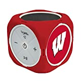 AudioSpice NCAA Wisconsin Badgers MX-300 Cubio Bluetooth Speaker, Black, One Size