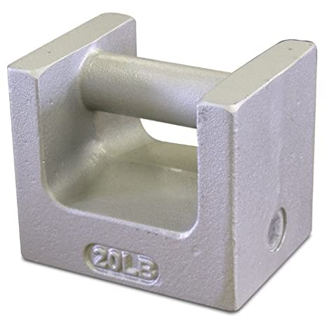 Rice Lake 12839 Cast Iron Painted Grip Handle Test Weight, 50lb Mass, NIST Class F Rice Lake Weighing Systems ric-12839